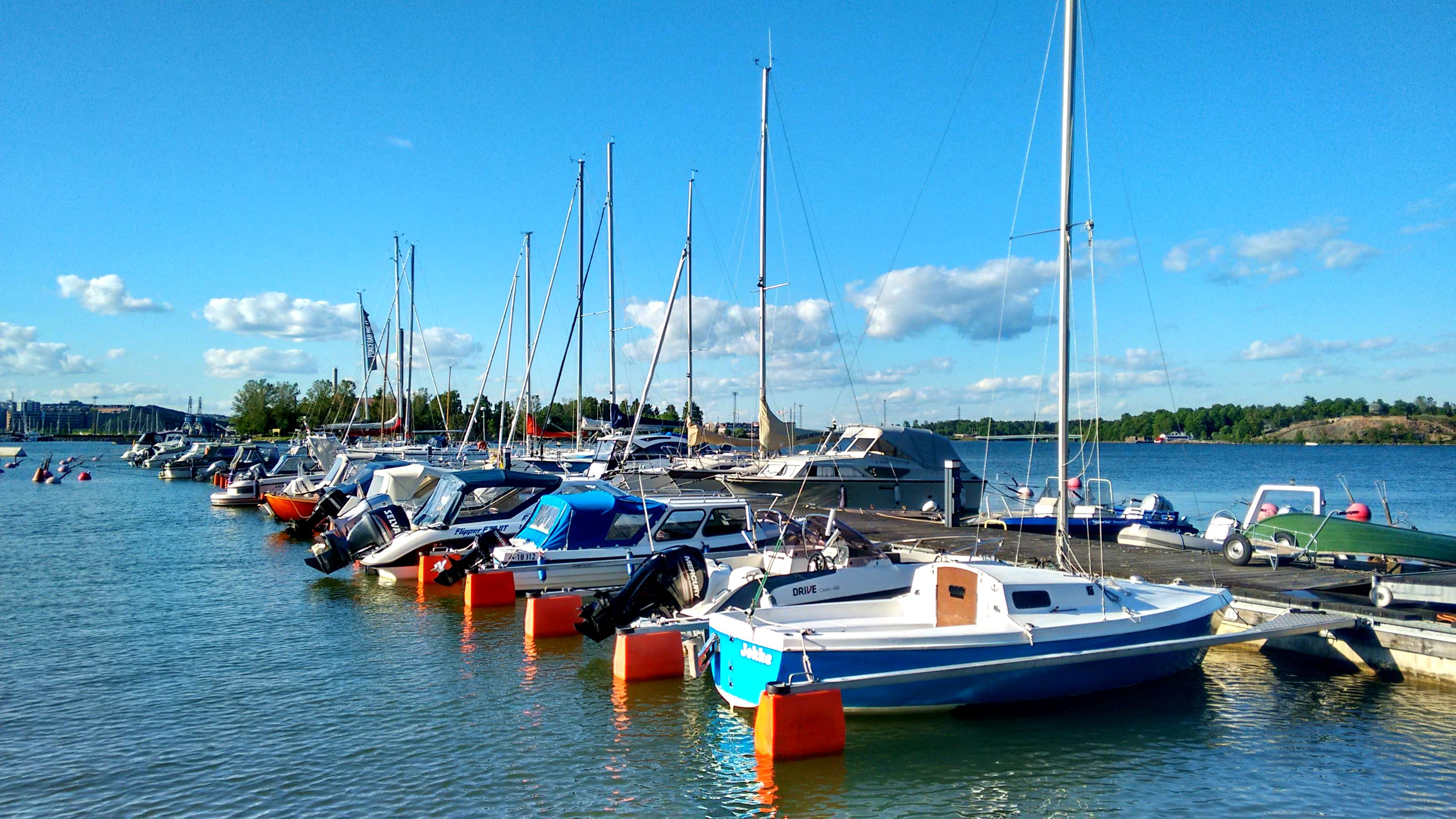 Private dock area, Helsinki