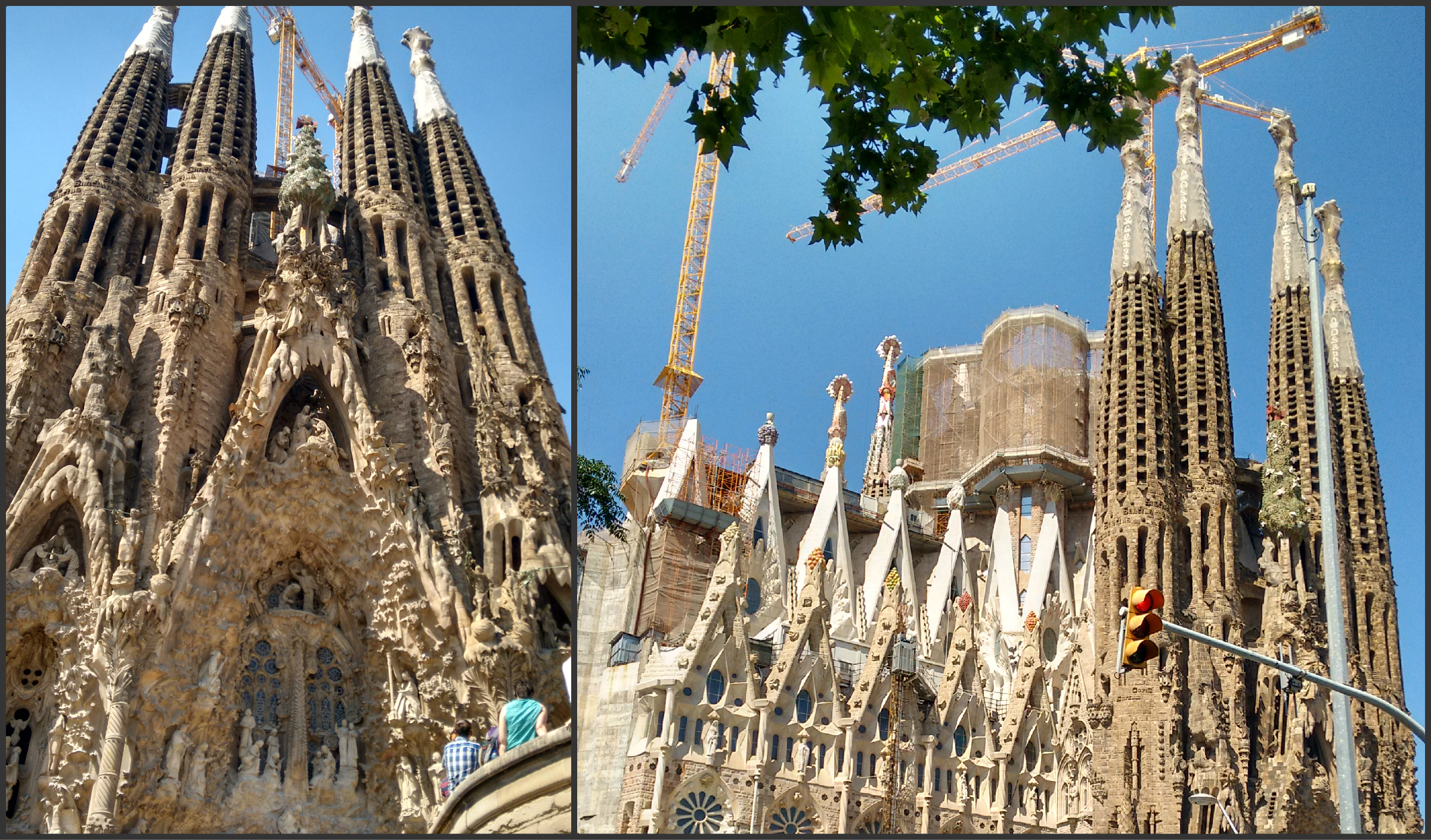 Gaudi's unfinished masterpiece Sagrada Familia