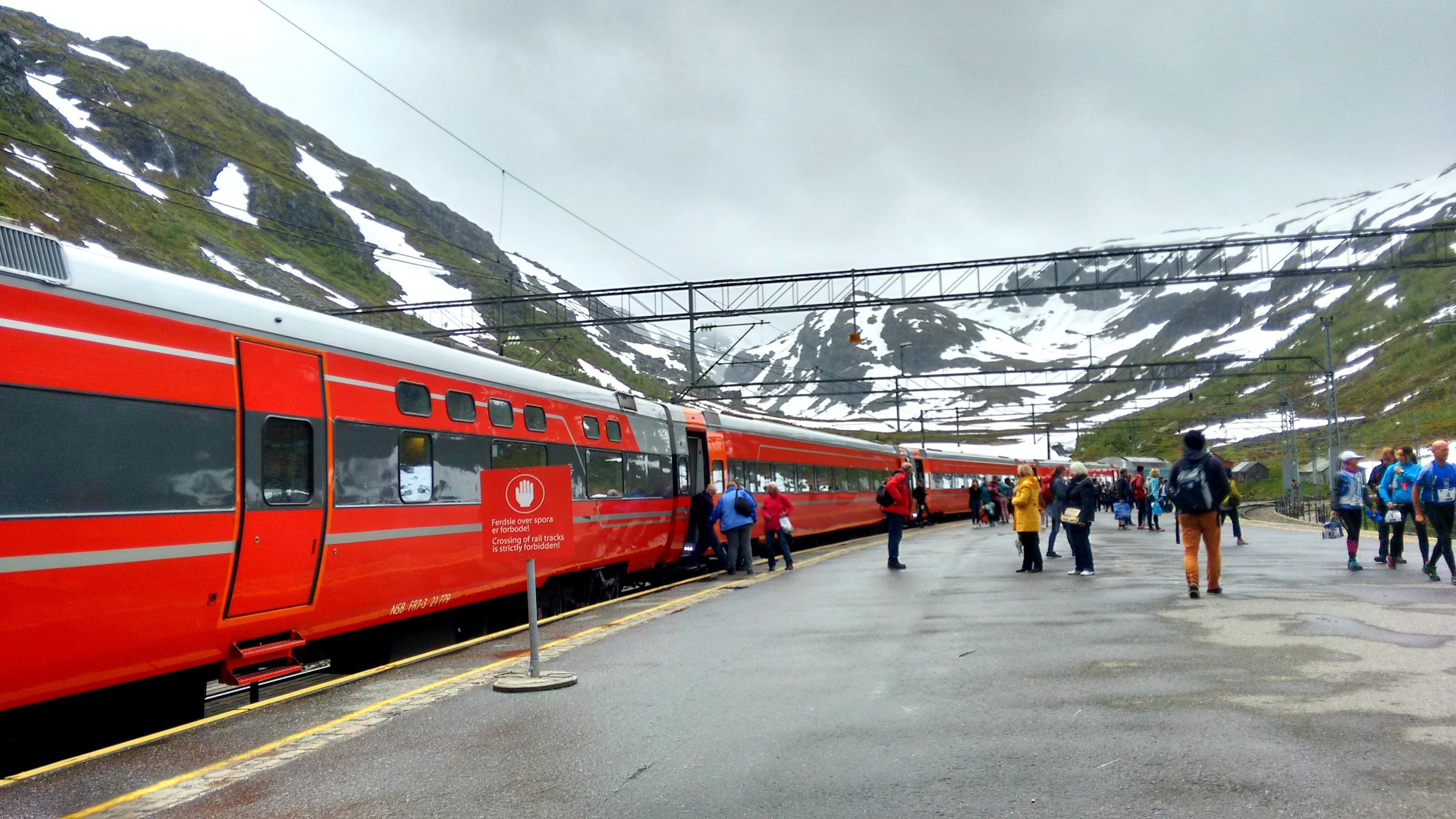 The prettiest train station I have ever seen. Myrdal- Flam rail route